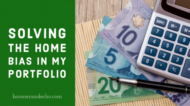 Solving the home country bias in Canadian portfolios